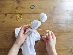 Comment réaliser des coussins tie & dye // How to make tie & dye cushions