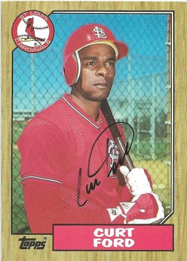 1987 Topps Curt Ford