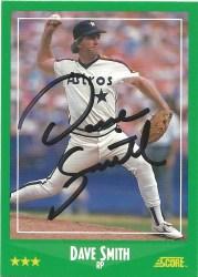 1988 Score Dave Smith