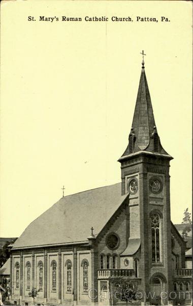 St Marys Roman Catholic Church Patton PA