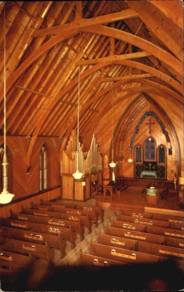 Interior Of Historical St Pauls Episcopal Church