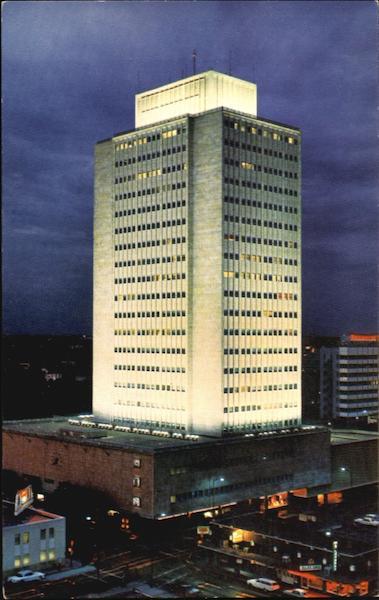 Building Of National Bank Of Commerce San Antonio TX