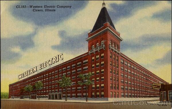 Western Electric Company Cicero IL