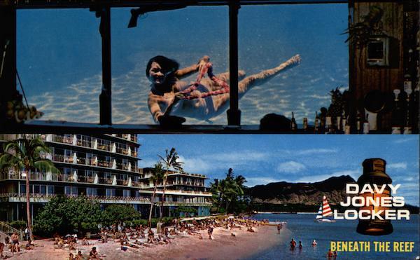 Davy Jones Locker Beneath The Reef Waikiki HI