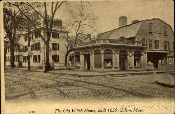 The Old Witch House Salem MA