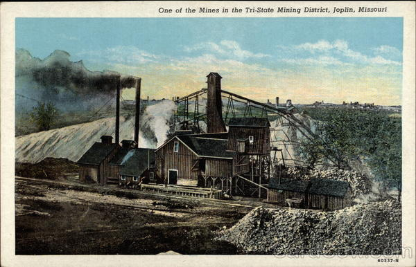 One Of The Mines In The Tri State Mining District Joplin MO