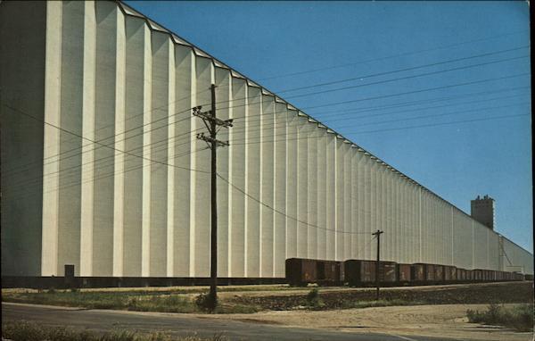 Worlds Largest Grain Elevator Hutchinson KS