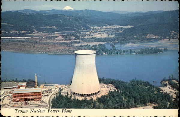 Trojan Nuclear Power Plant Rainier OR
