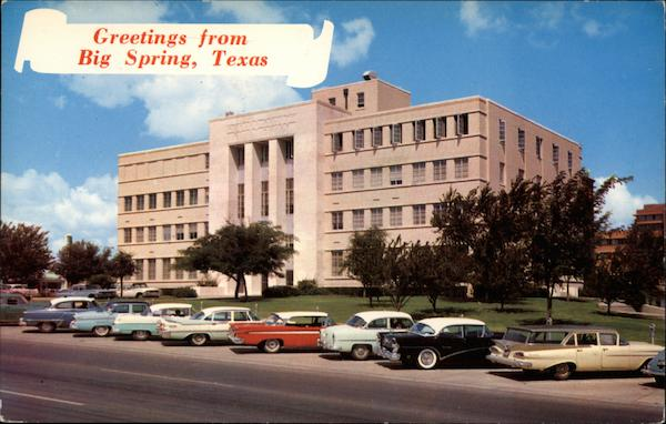 Howard County Court House Big Spring TX
