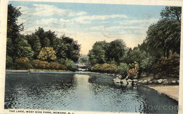 The Lake West Side Park Newark NJ