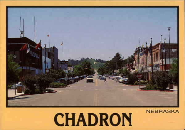 Main Street Chadron NE