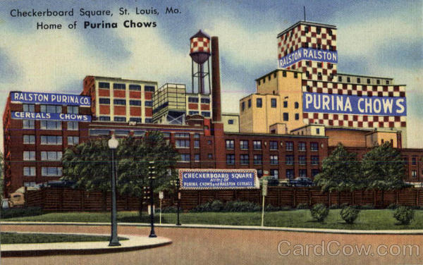 Checkerboard Square Home Of Purina Chows St Louis MO