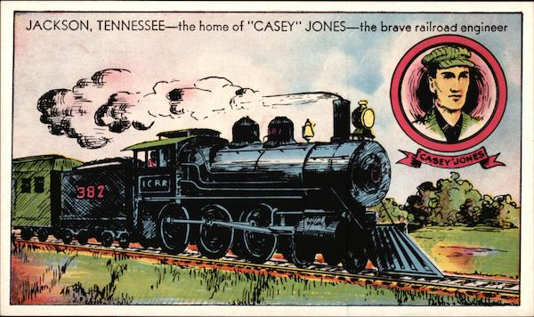 Home Of Casey Jones The Brave Railroad Engineer