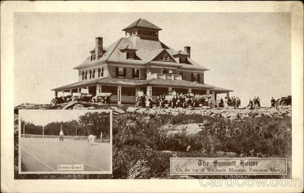 The Summit House Wachusett Mountain Princeton MA