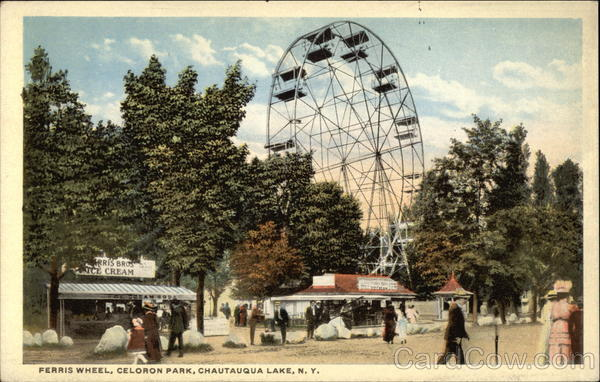 Ferris Wheel Celoron Park Chautauqua Lake NY