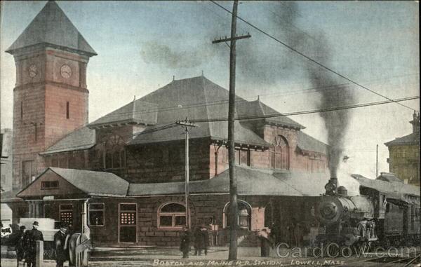 Boston And Maine Railroad Station Lowell MA