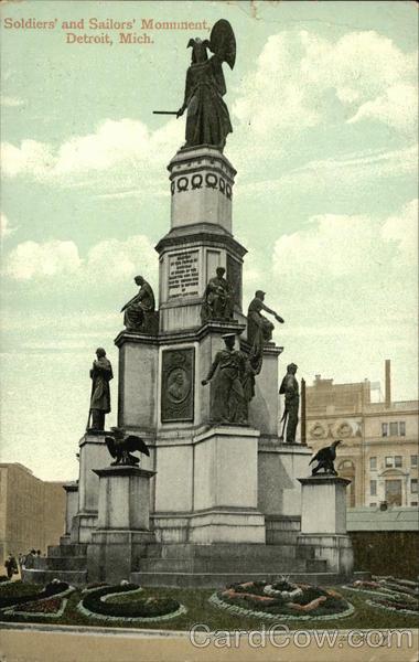 Soldiers And Sailors Monument Detroit MI
