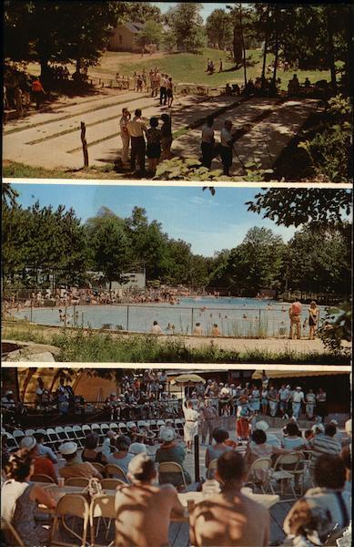 Pinecrest Country Club Shelton CT Postcard