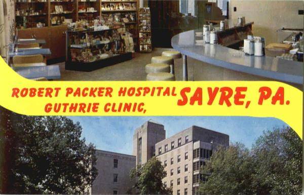 Robert Packer Hospital Guthrie Clinic Sayre PA