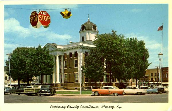 Calloway County Courthouse Murray KY