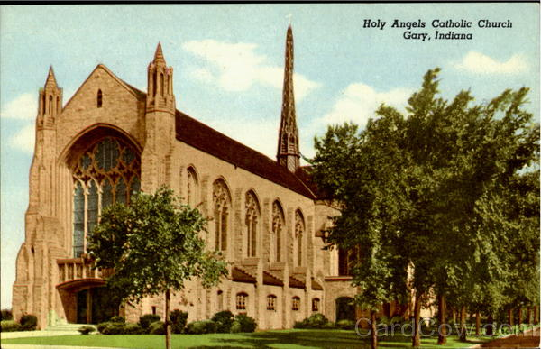 Holy Angels Catholic Church Gary IN