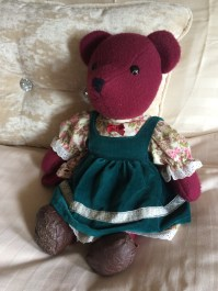 and how do you like my gorgeous little Blackberry Bliss teddy :)