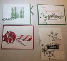 2015.10.24 CHRISTMAS RETREAT CHRISTMAS CARDS