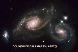 arp274_hst Colixion de Galaxias