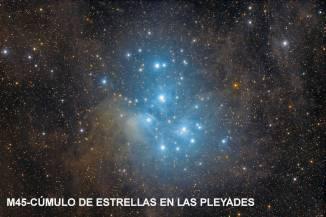 m45_Cumulo estrellas en las pleyades