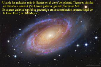 M81 GALAXIA ESPIRAL BRILLANTE