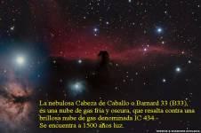 Nebulosa Cabeza de Caballo en Orion