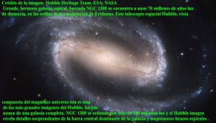 NGC 1300 GALAXIA EN ESPIRAL BARRADA