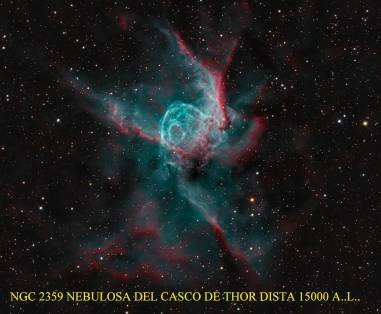 Ngc2359 Nebulosa a 15000 A.L. en Canis Mayor