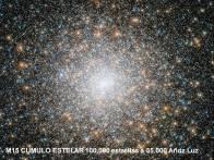 M15 Cumulo estelar 100000 estrellas a 35000 años Luz