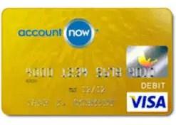 AccountNow Gold Visa Credit Card