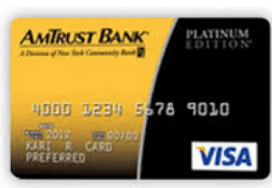 Amtrust Bank Platinum Visa Credit Card login