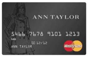 ANN Taylor Credit Card Login