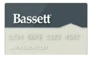 Bassett furniture credit card Login