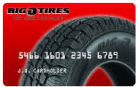 Big O Tires Credit Card Login