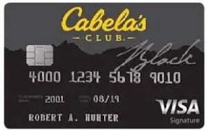 Cabela's Club Visa Credit Card Login