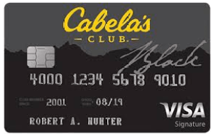 Cabela's Club Visa Credit Card Login
