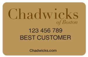 Chadwicks Credit Card Login