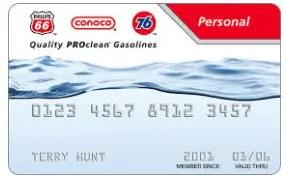Conoco Credit Card