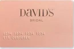 David's Bridal Credit Card
