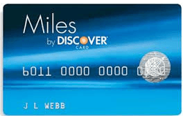 Discover It Miles Travel Credit Card