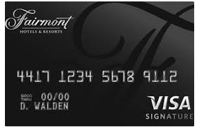 Fairmont Hotels Credit Card