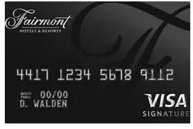 Fairmont Hotels Credit Card