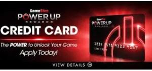 Gamestop Powerup Rewards Credit Card