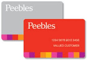 Peebles Credit Card
