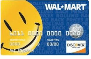 Walmart Credit Card Payment